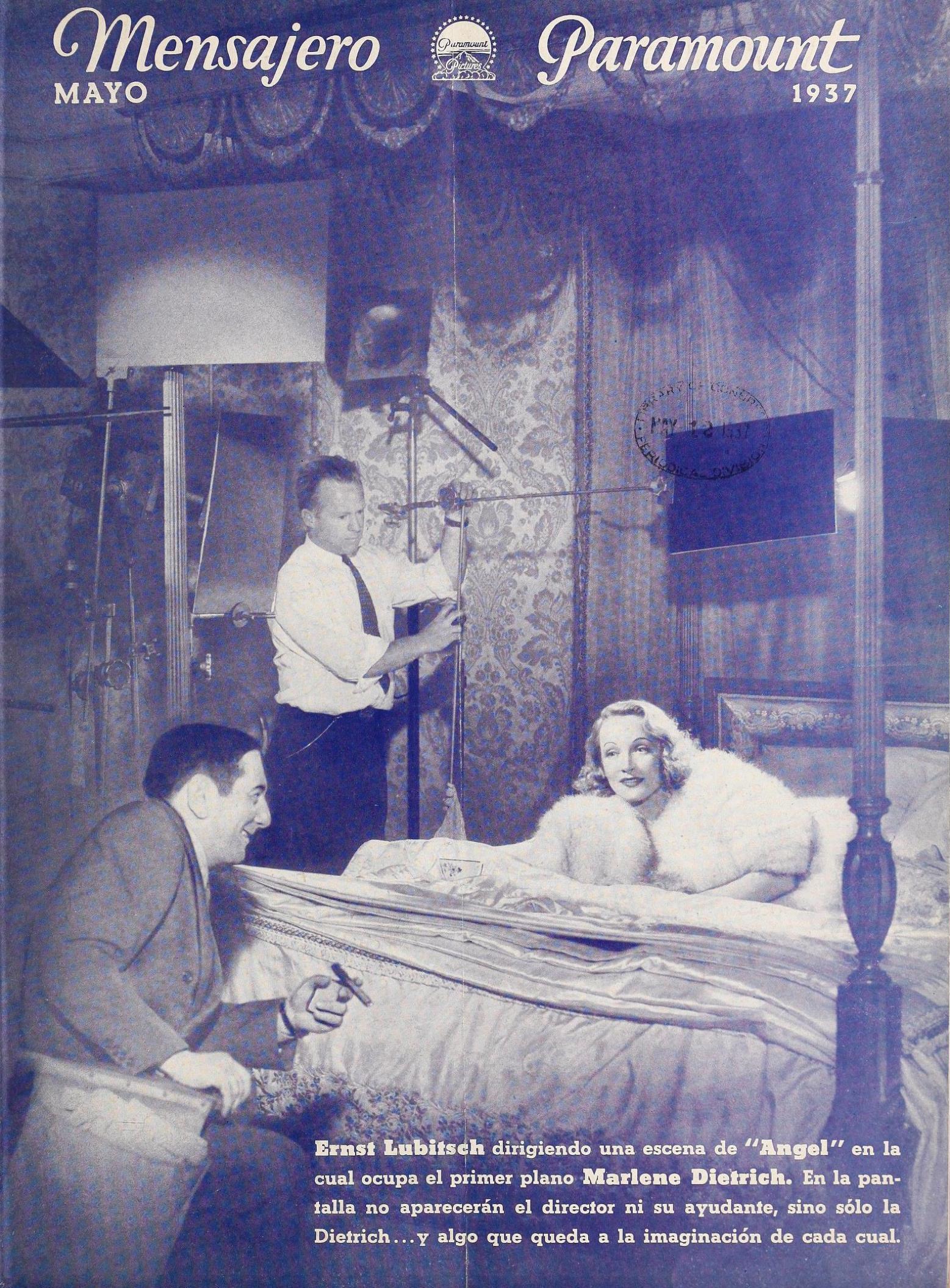 mensajero paramount may 1937 cover large