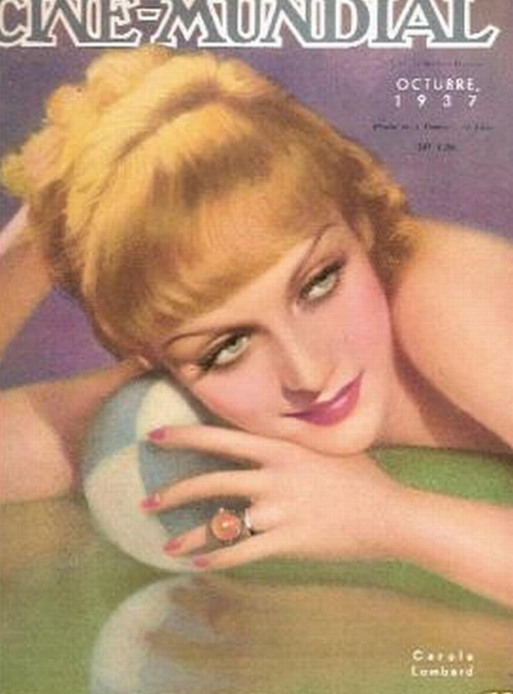 carole lombard cine-mundial oct 1937