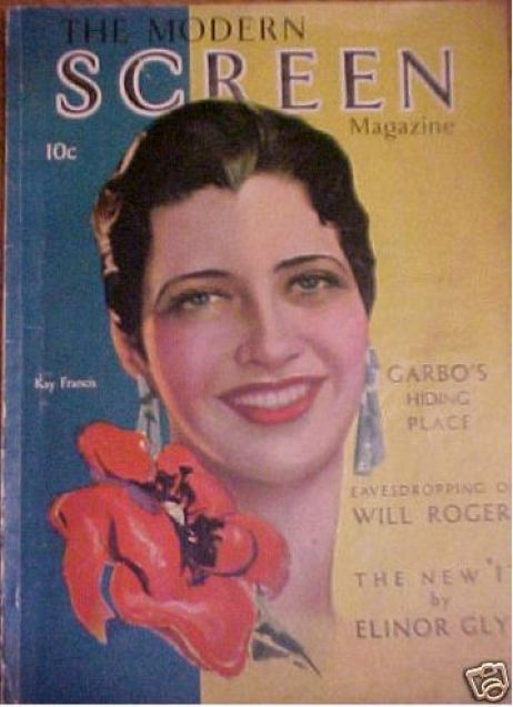 modern screen november 1930 kay francis