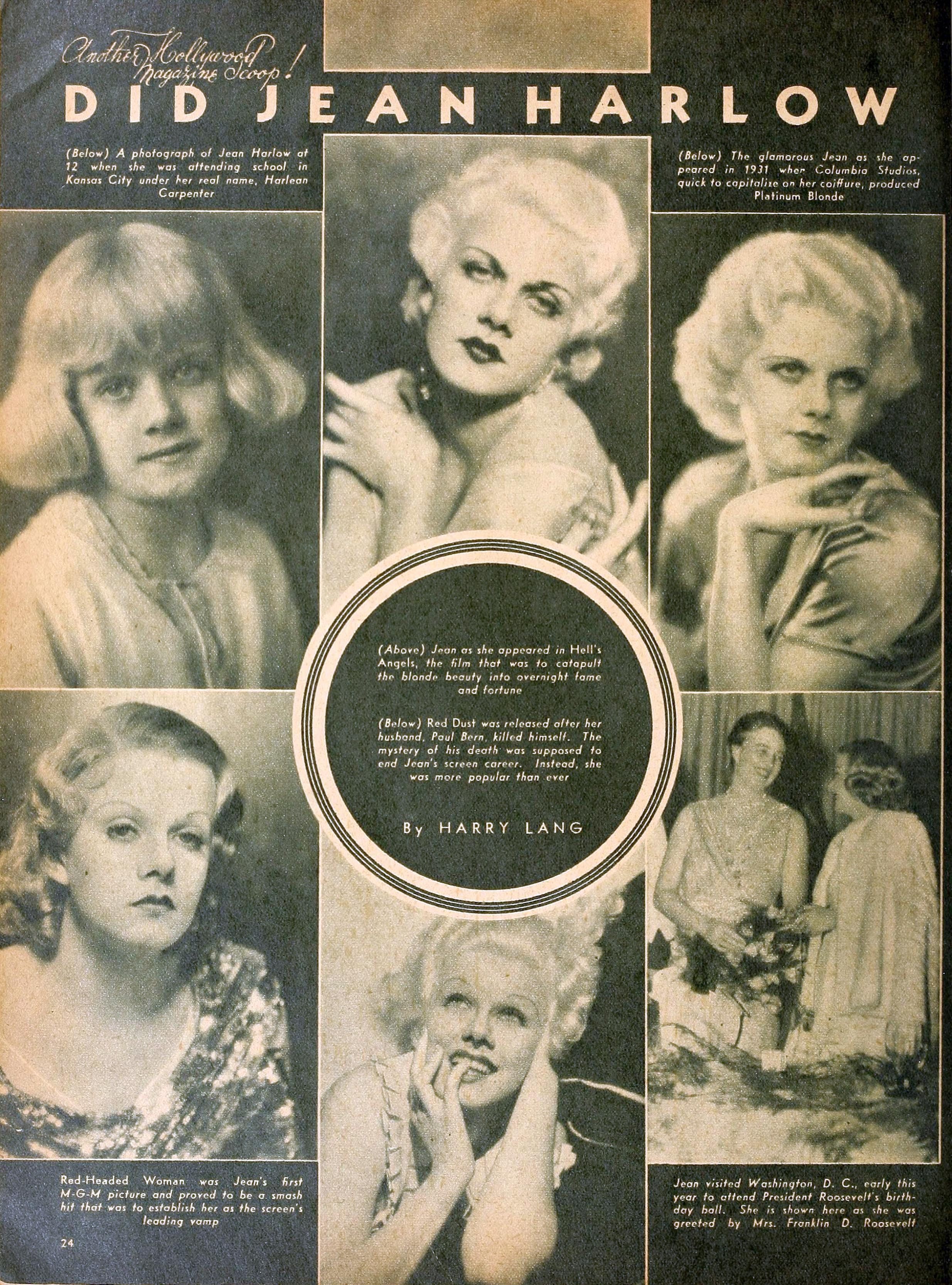 jean harlow hollywood august 1937aa