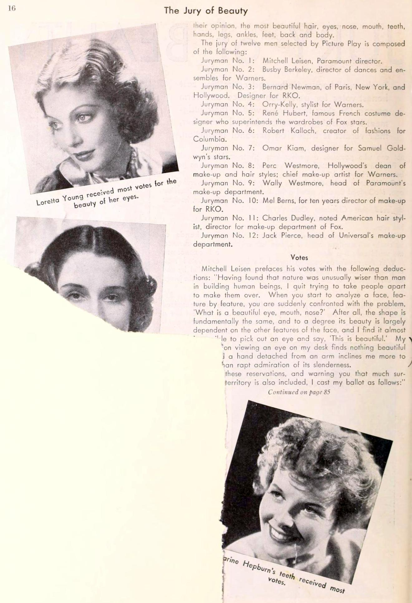 carole lombard picture play november 1935ca