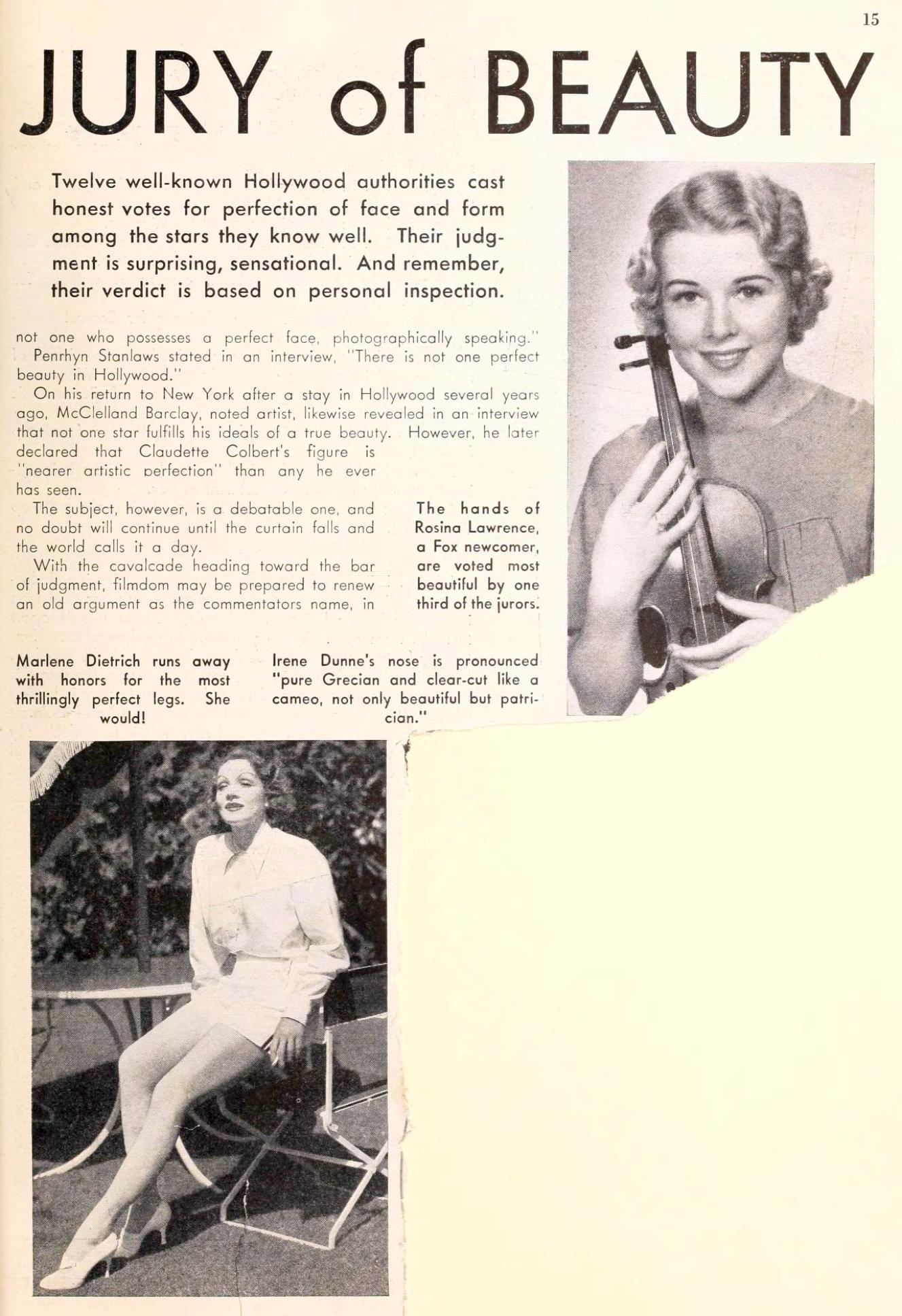 carole lombard picture play november 1935ba