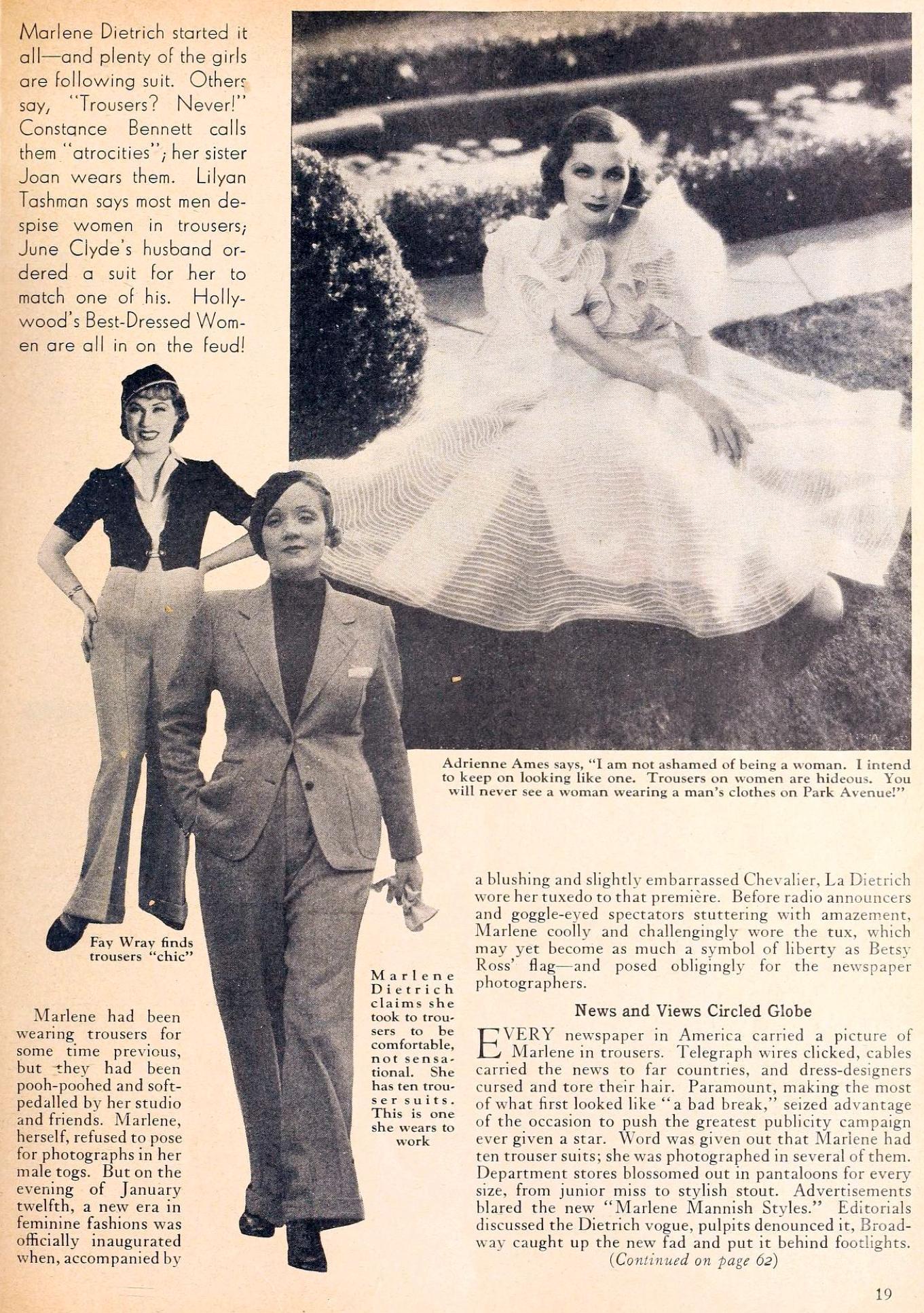 carole lombard movie classic may 1933fa