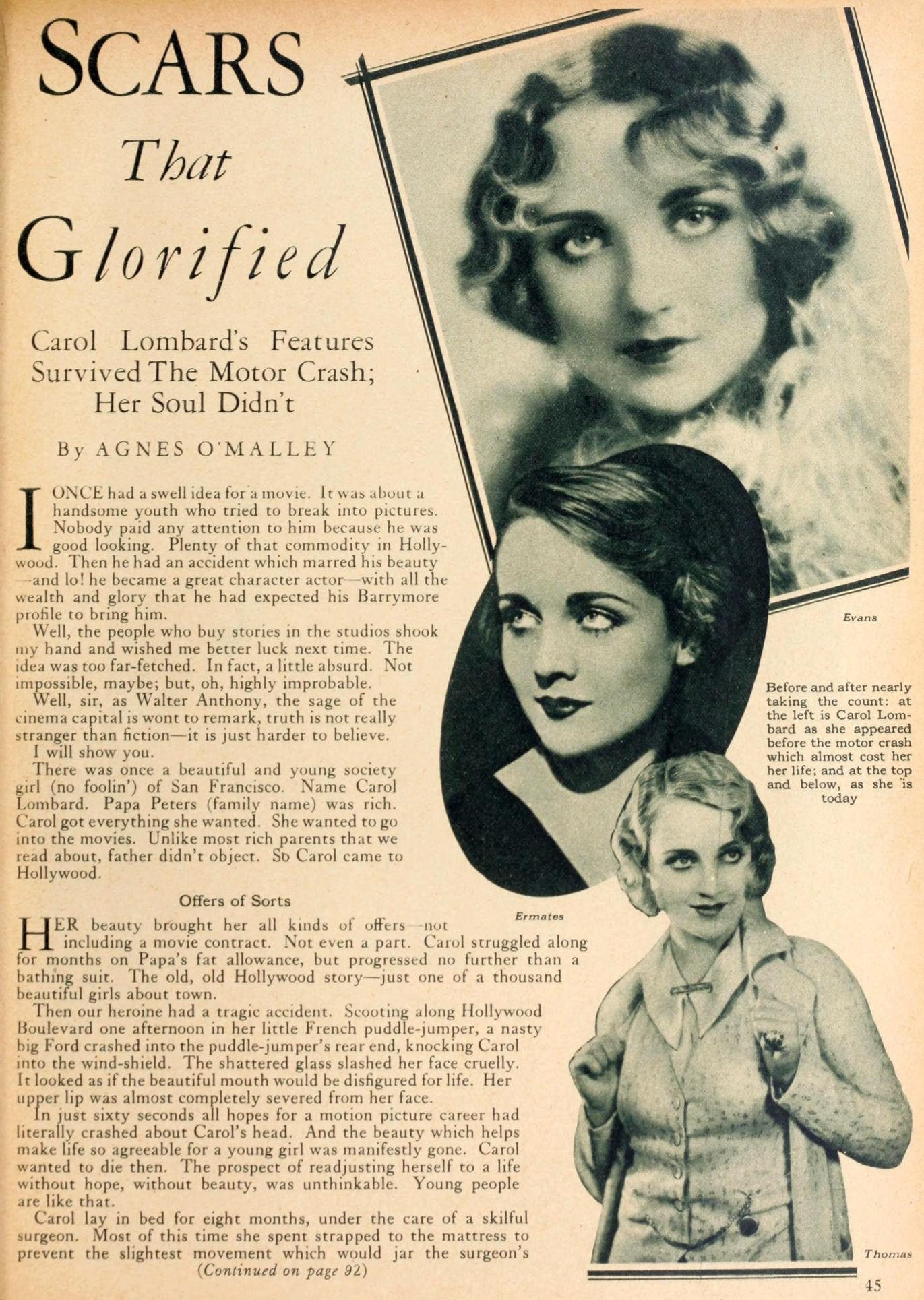 carole lombard motion picture classic june 1929aa
