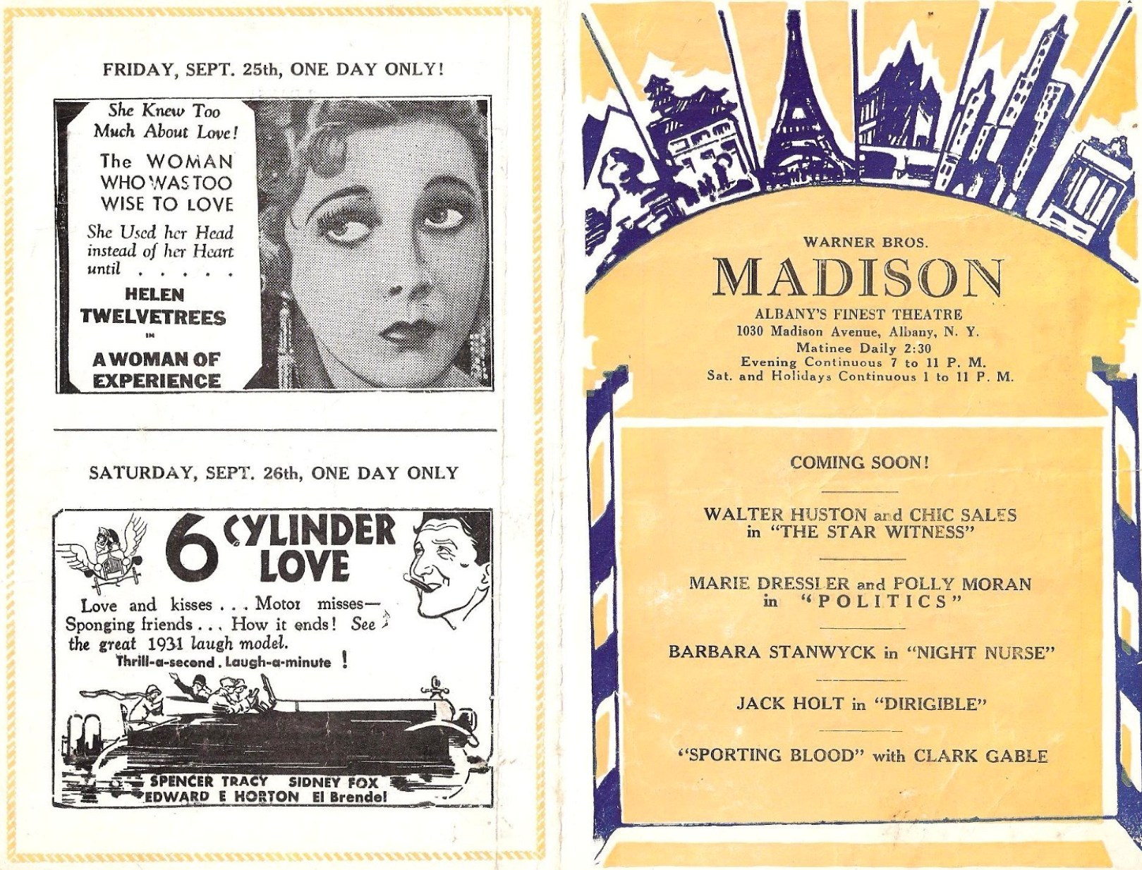 carole lombard up pops the devil madison theater albany ny 01a