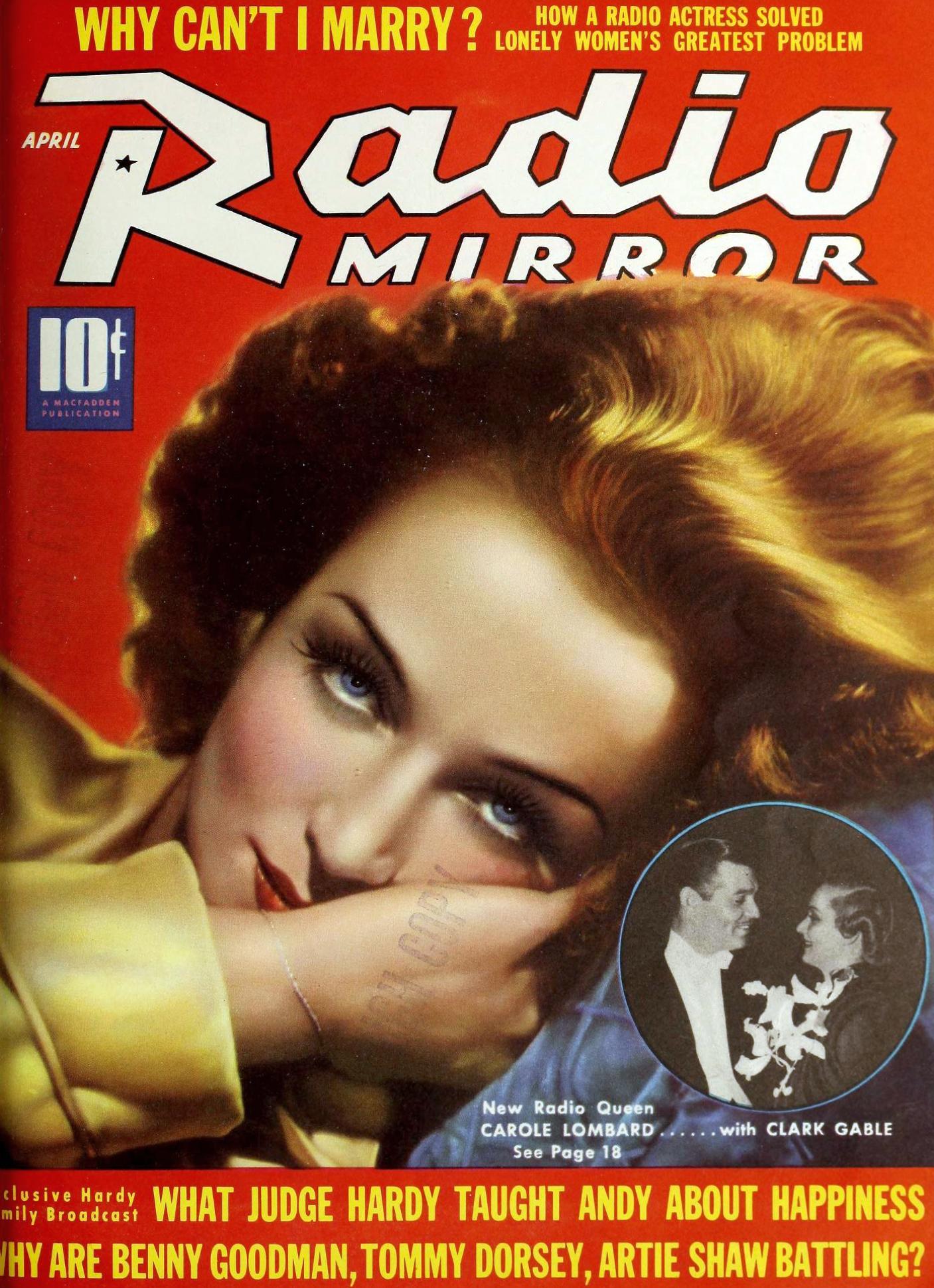 carole lombard radio mirror april 1939b cover