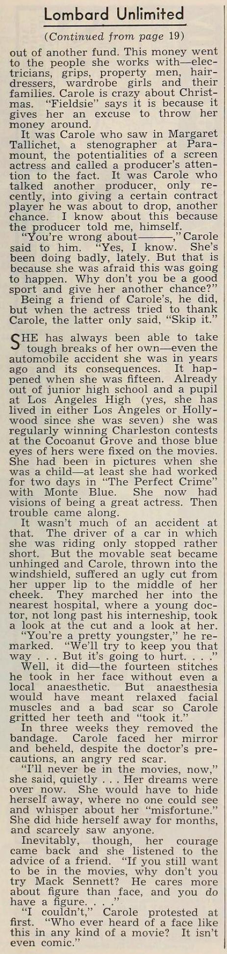 carole lombard radio mirror april 1939ca