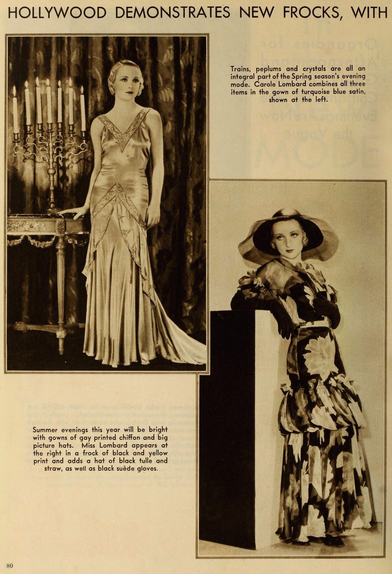 carole lombard the new movie magazine may 1931aa