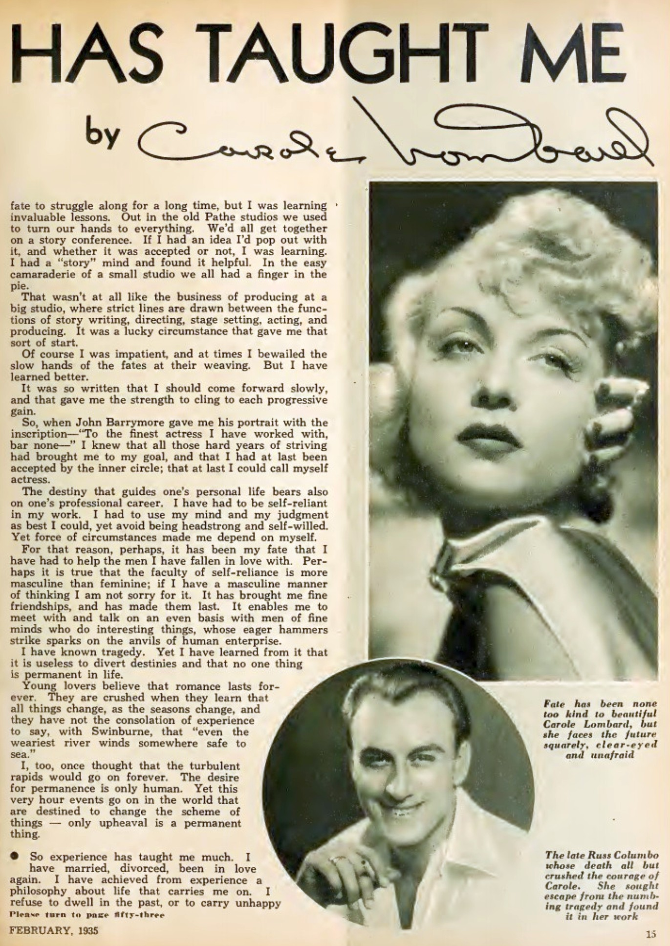 carole lombard hollywood february 1935b