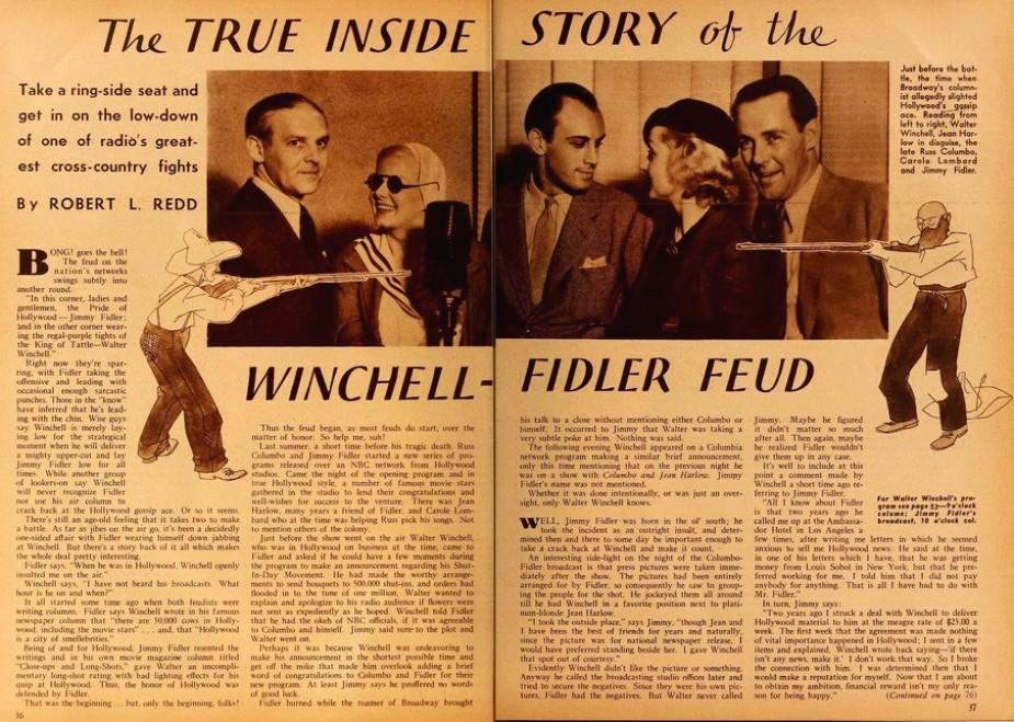 carole lombard jean harlow radio mirror july 1935d