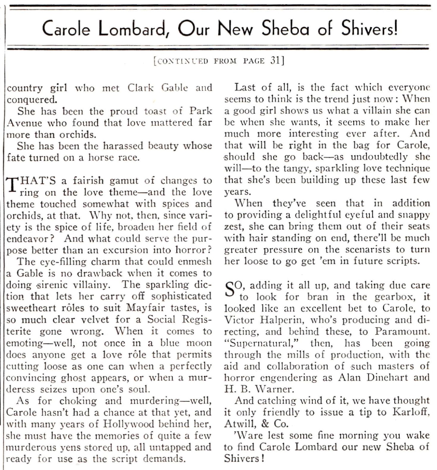 carole lombard shadoplay may 1933ca