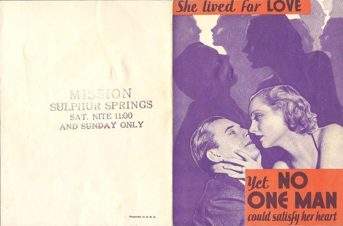 carole lombard no one man herald mission sulphur springs texas front large