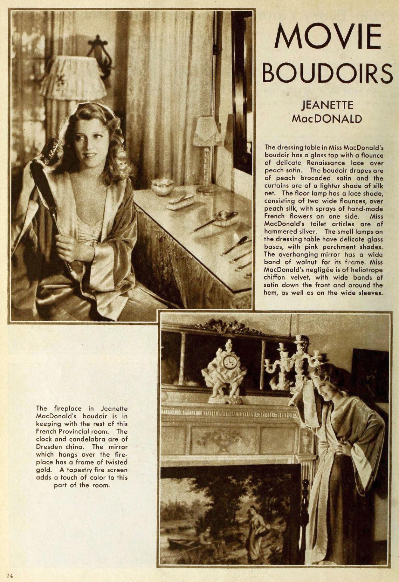 jeanette macdonald the new movie magazine january 1931aa