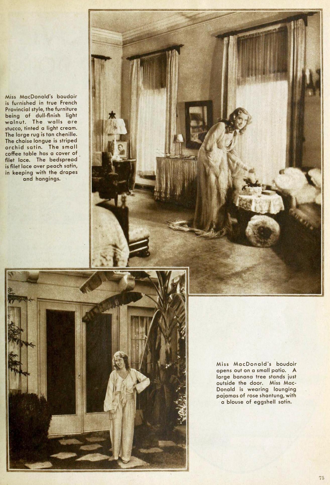 jeanette macdonald the new movie magazine january 1931ba