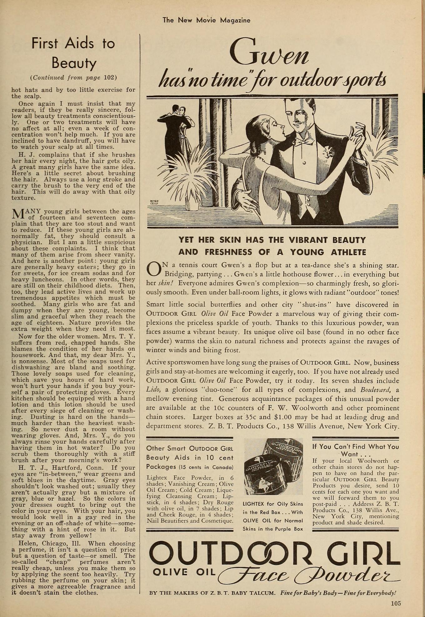 carole lombard the new movie magazine january 1931b