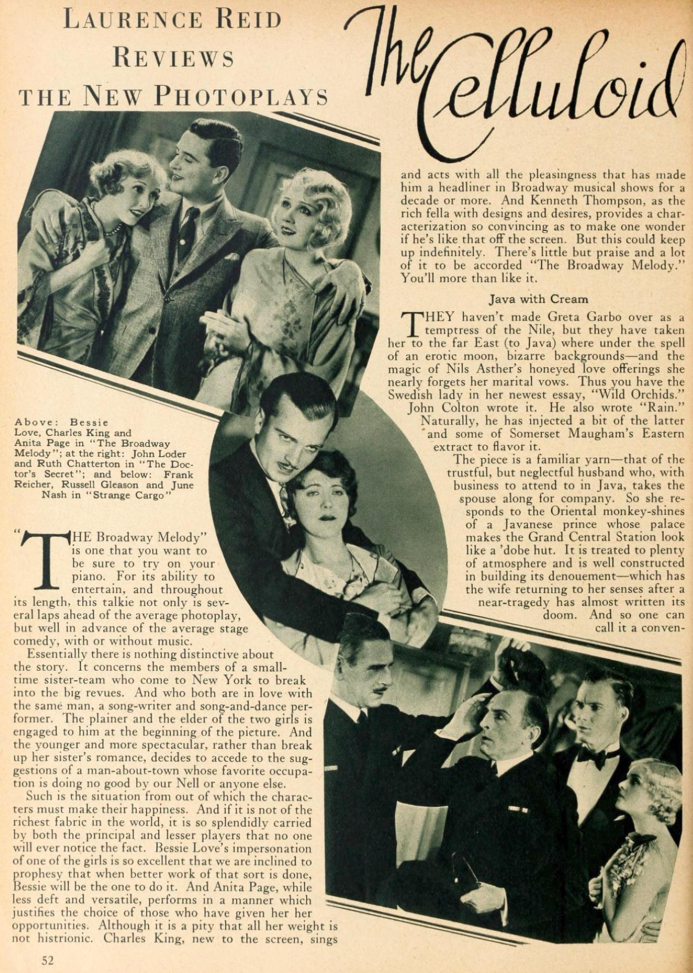 motion picture classic may 1929la