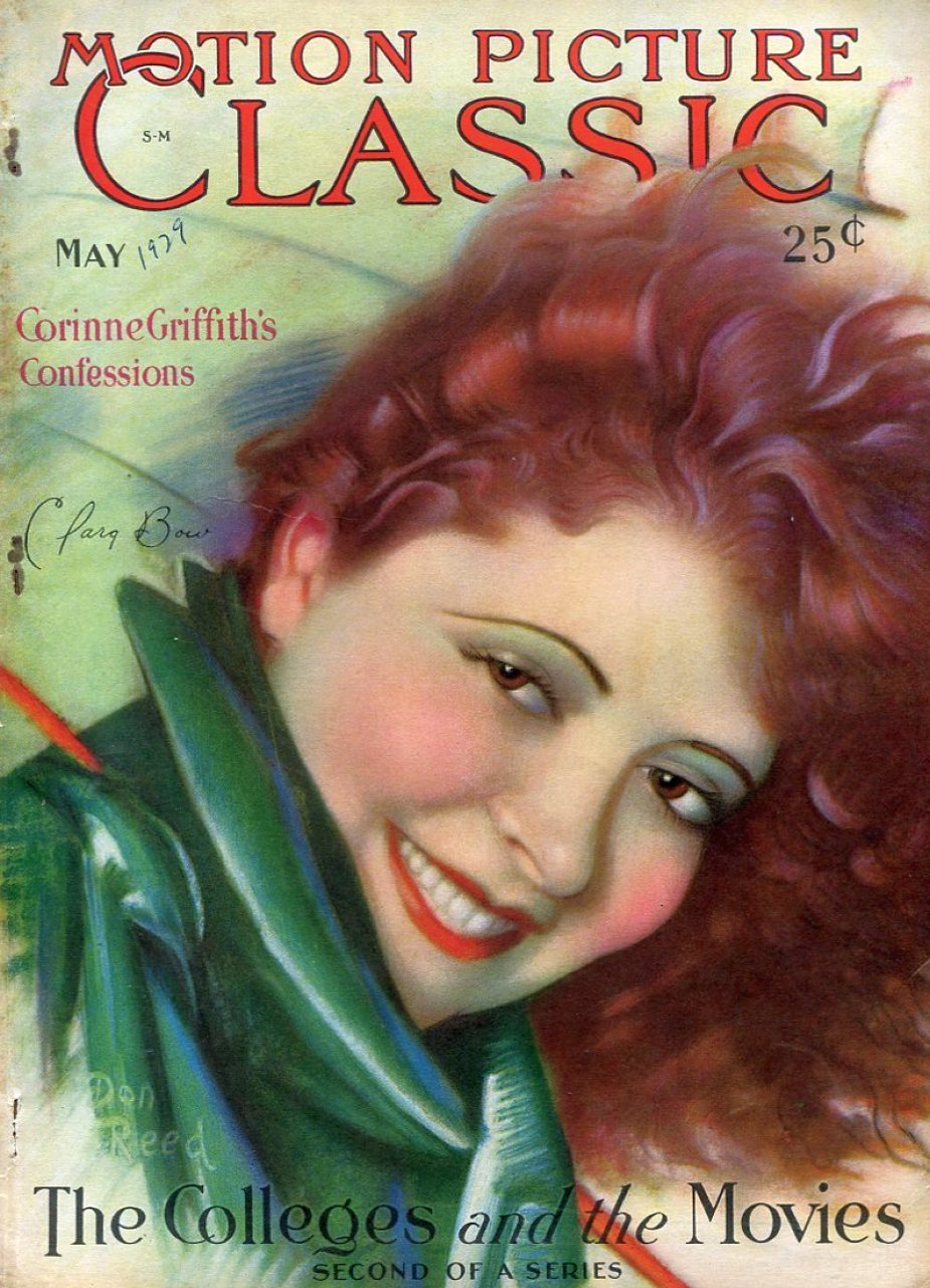 motion picture classic may 1929 cover clara bow large