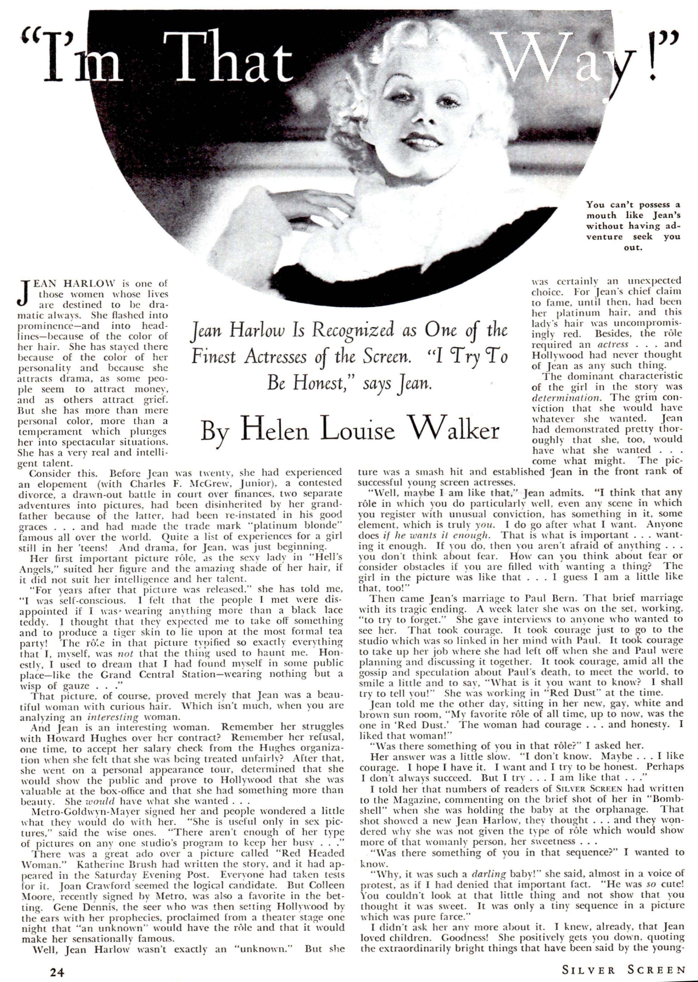 silver screen april 1934c
