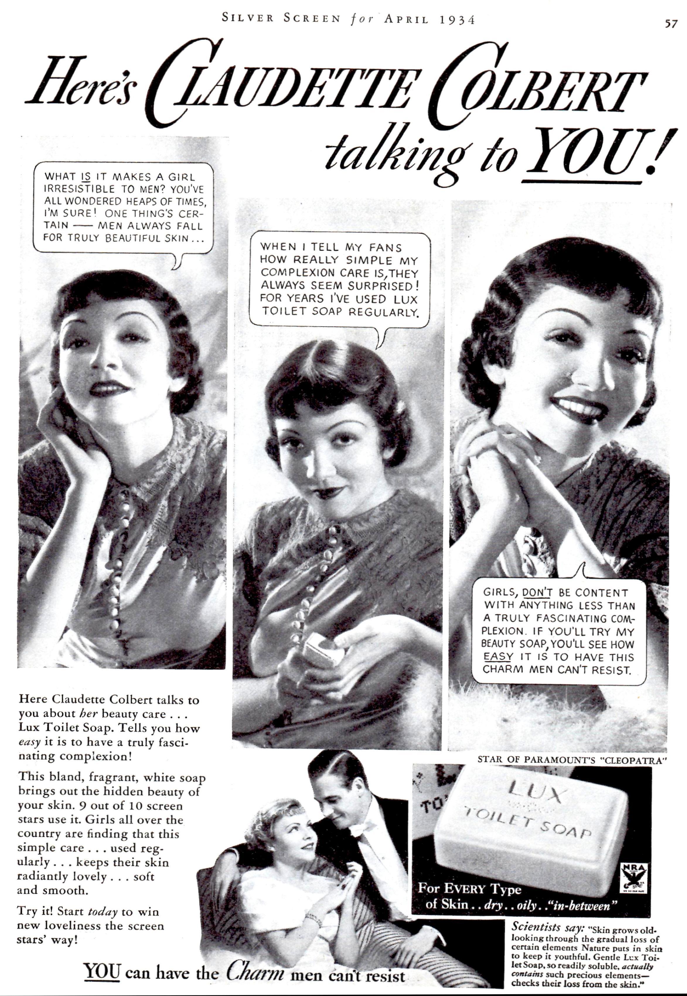 silver screen april 1934i
