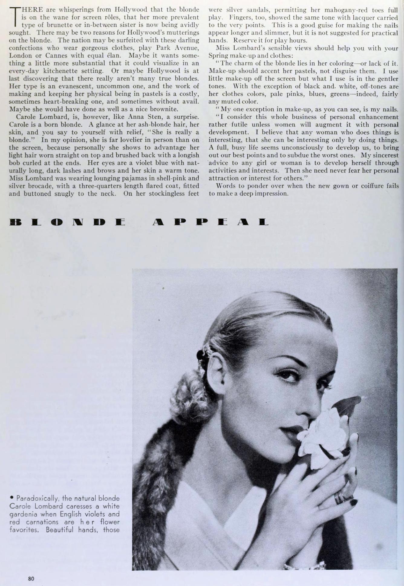 carole lombard photoplay april 1935 larger