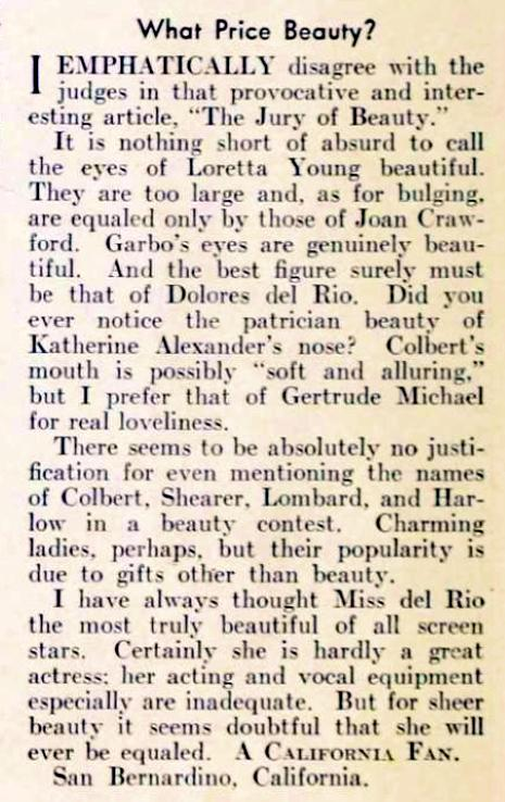 carole lombard picture play february 1936da