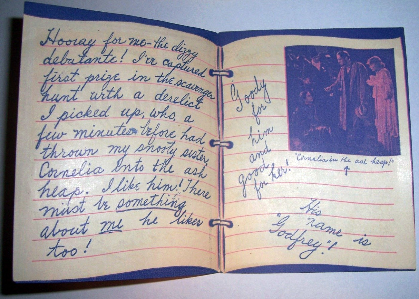 carole lombard my man godfrey diary of a debutante 01a