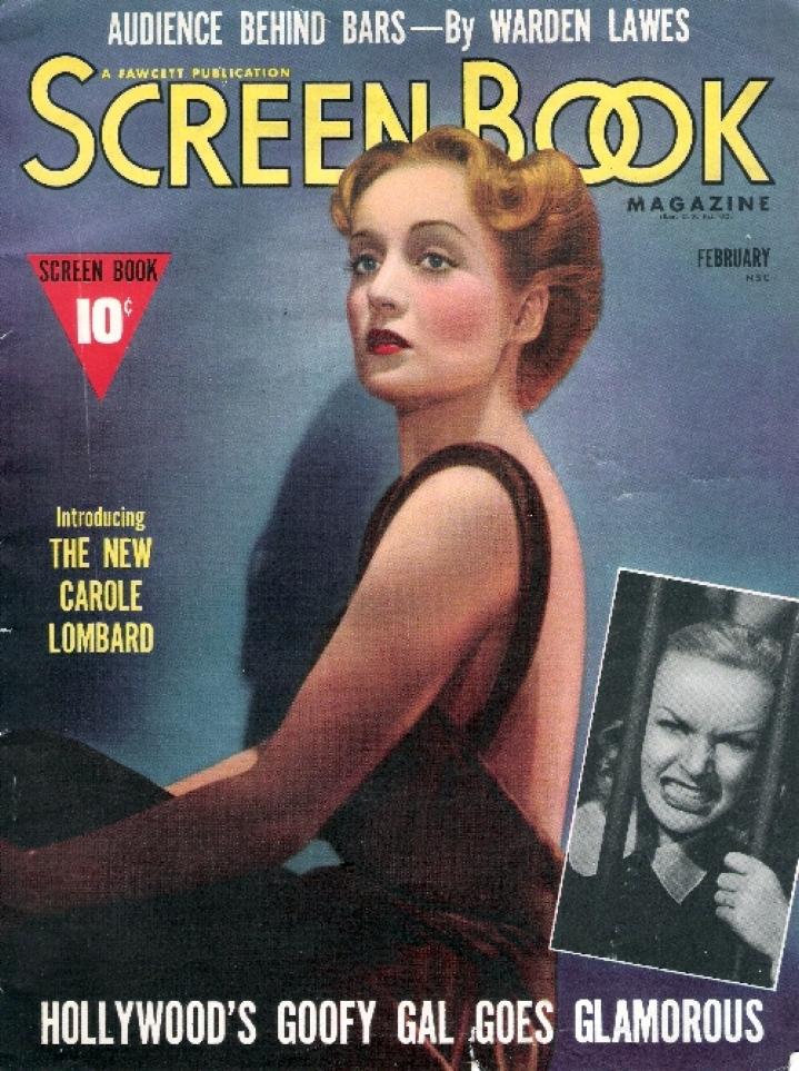 carole lombard screen book february 1939a cover
