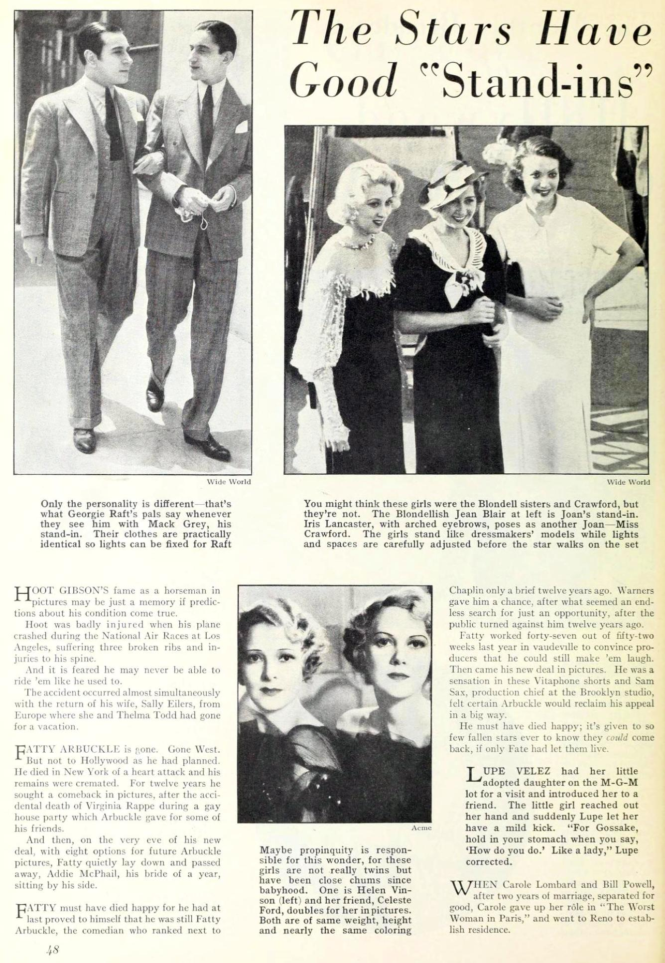 carole lombard photoplay september 1933eb