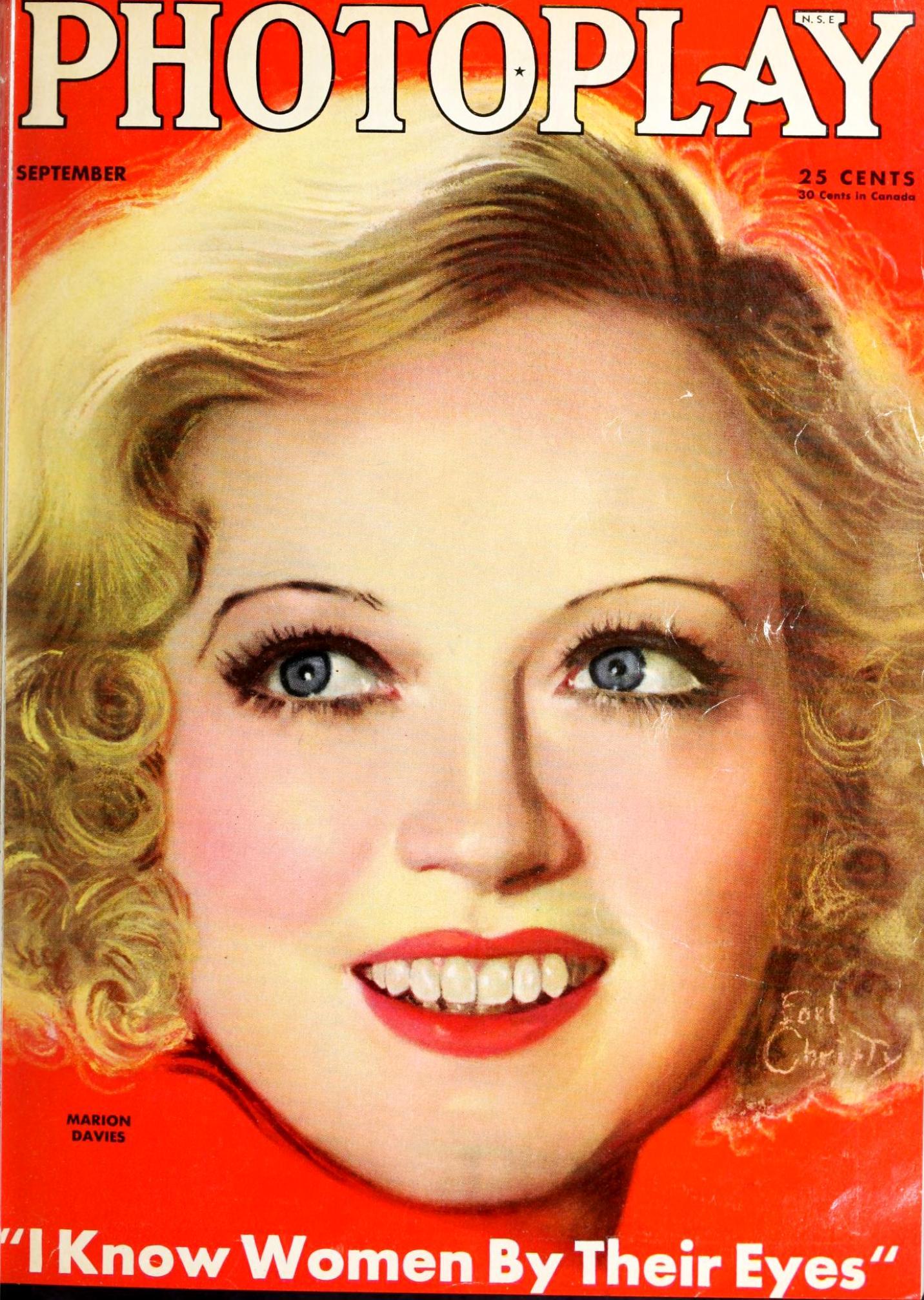 marion davies photoplay september 1933a