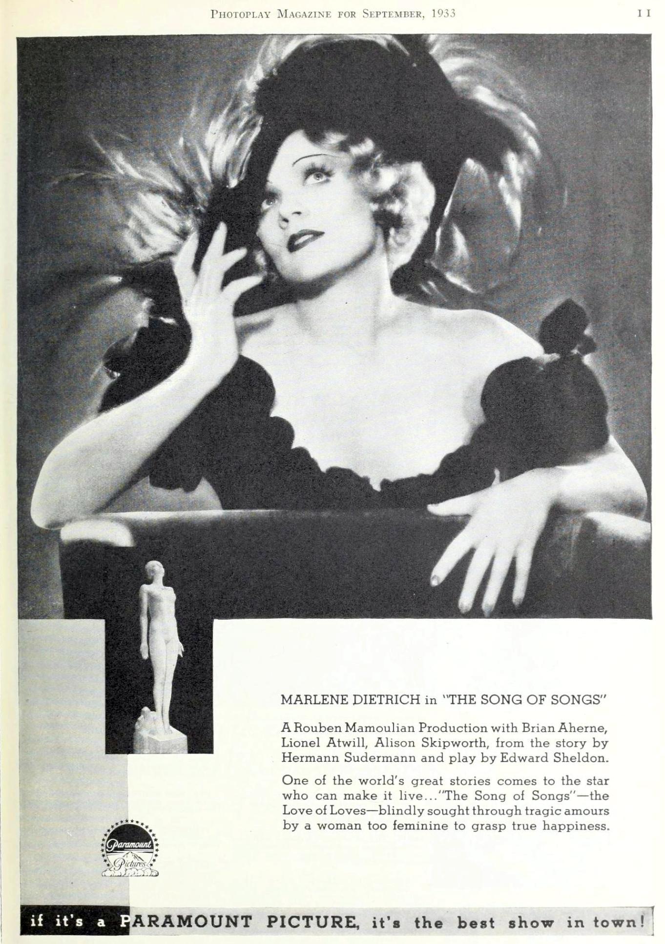 photoplay september 1933da