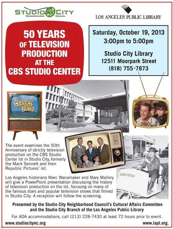cbs studio center 101913