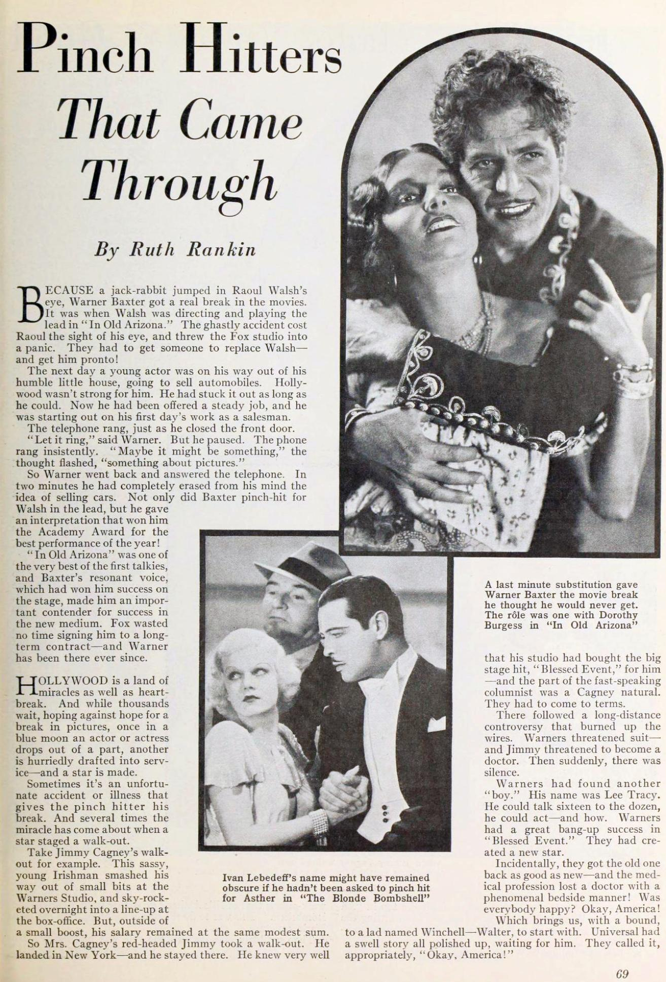 carole lombard photoplay january 1934ja