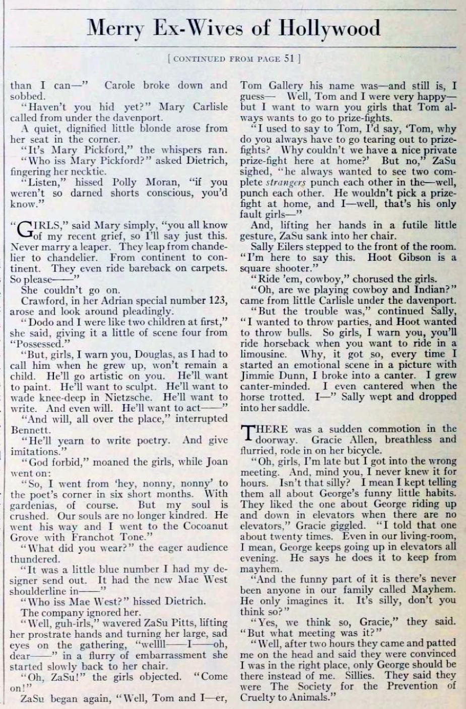 carole lombard photoplay january 1934cb