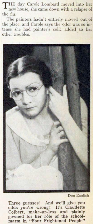 carole lombard photoplay january 1934nb