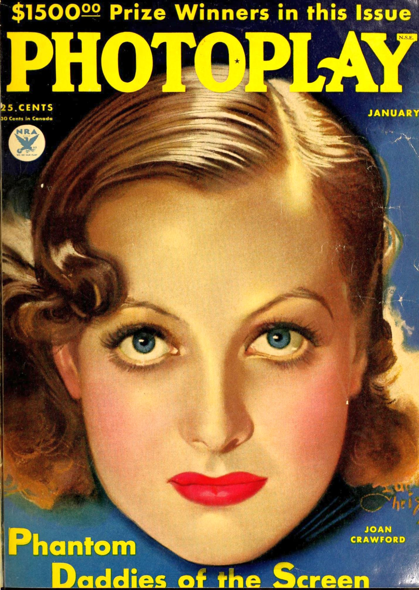 photoplay january 1934a cover