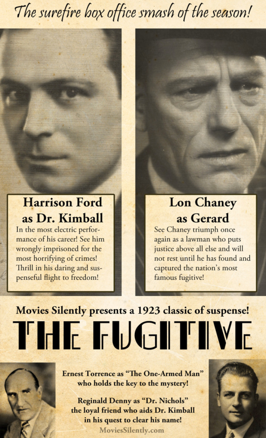 the great silent recasting the fugitive 00a