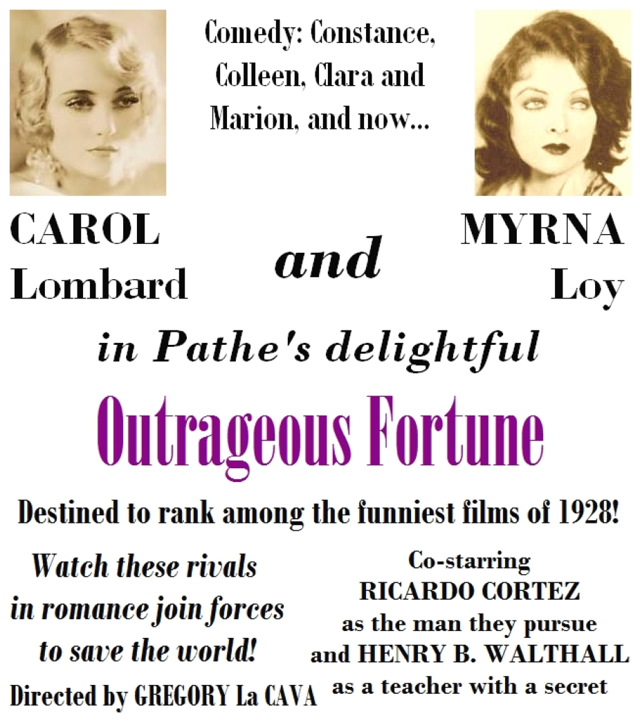 carole lombard the great silent recasting outrageous fortune 00b