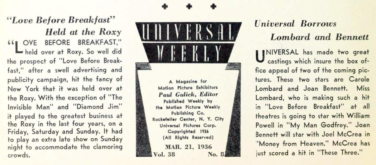 carole lombard universal weekly 032136ba
