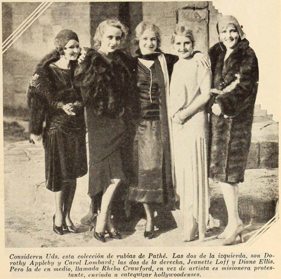 carole lombard cine mundial october 1929ab