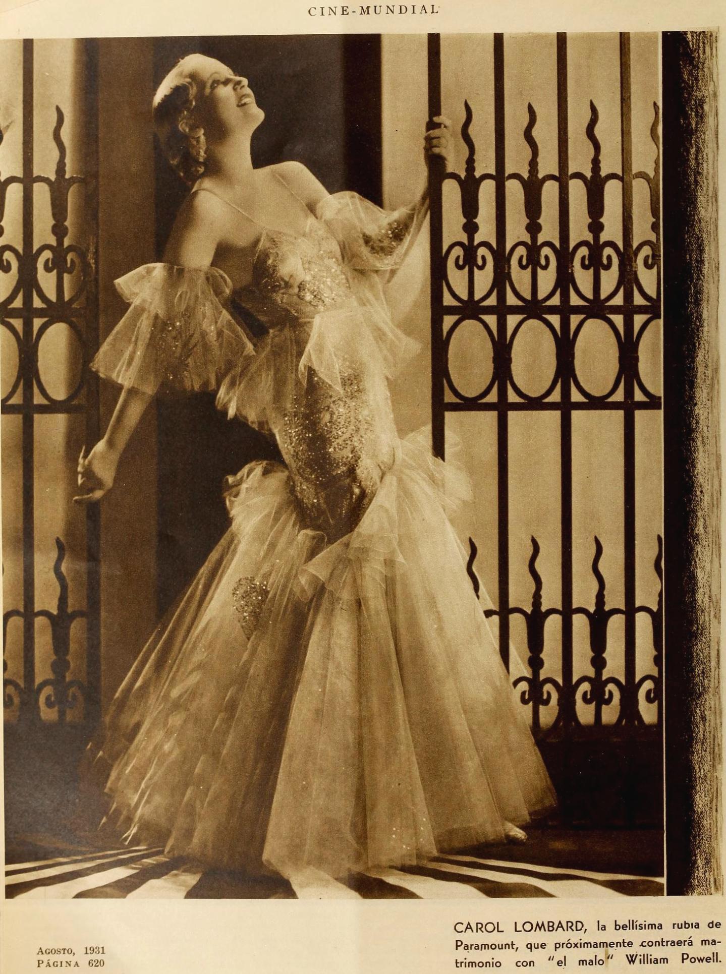 carole lombard cine mundial august 1931aa