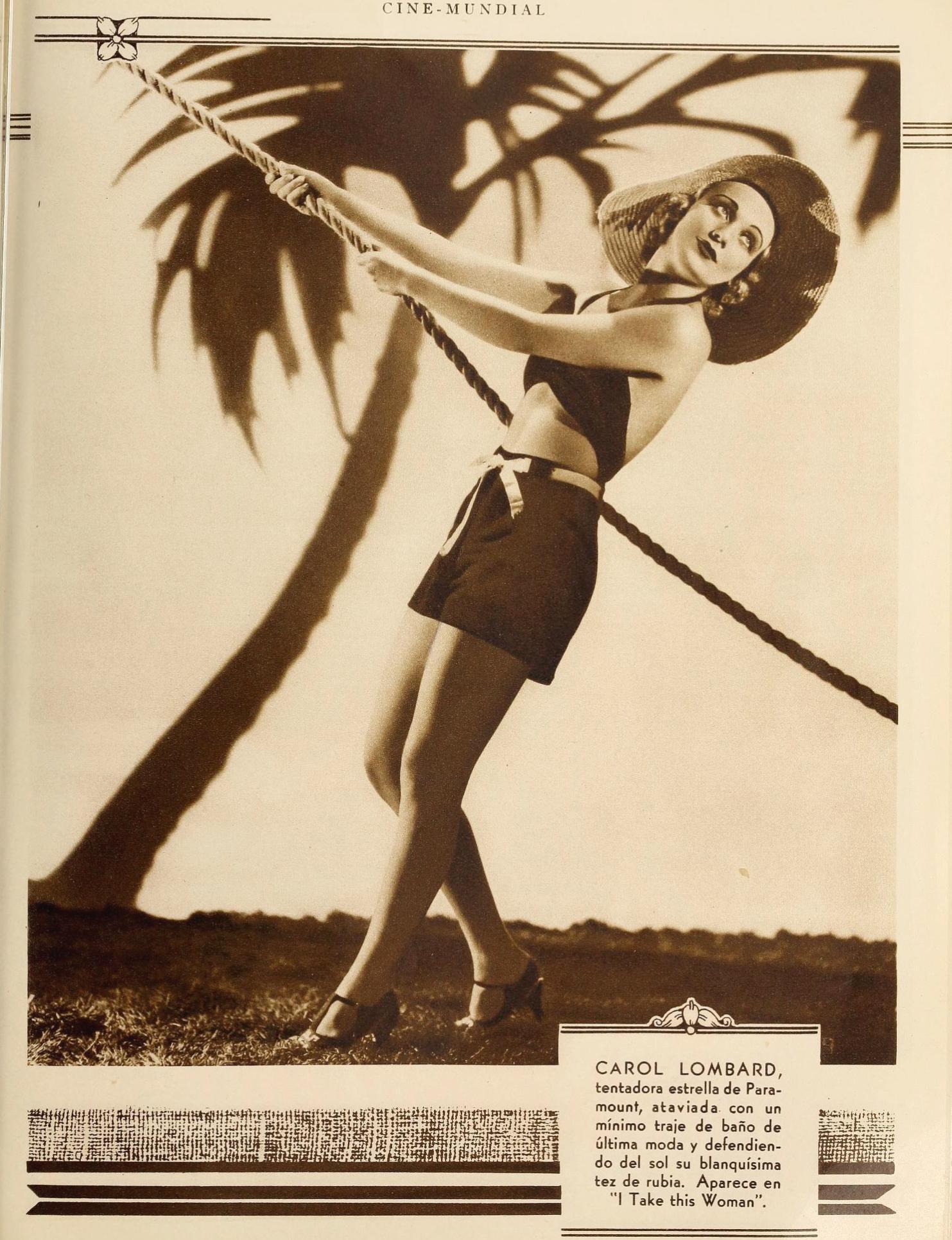 carole lombard cine mundial september 1931aa