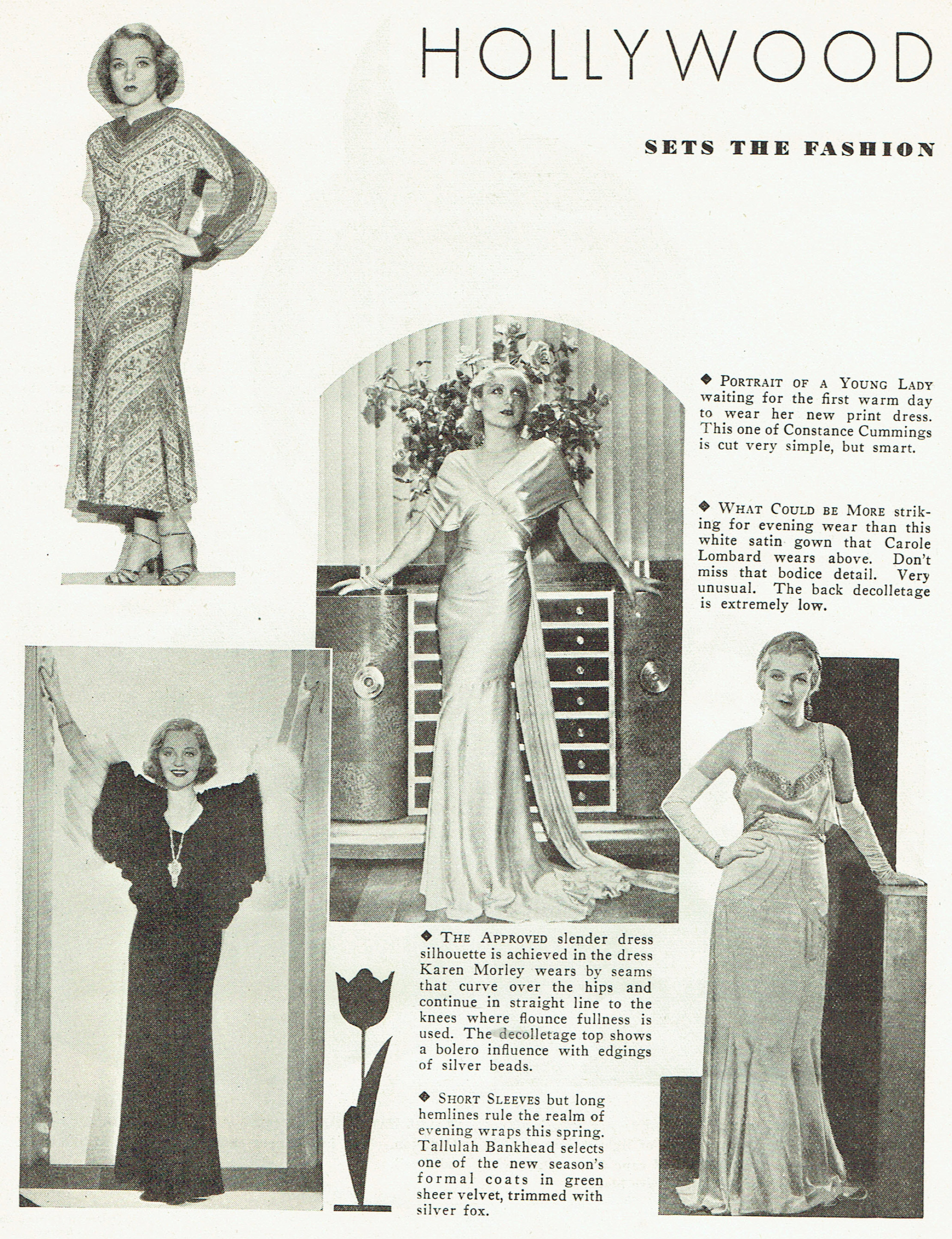 carole lombard publix theatre screen review april 1932qa