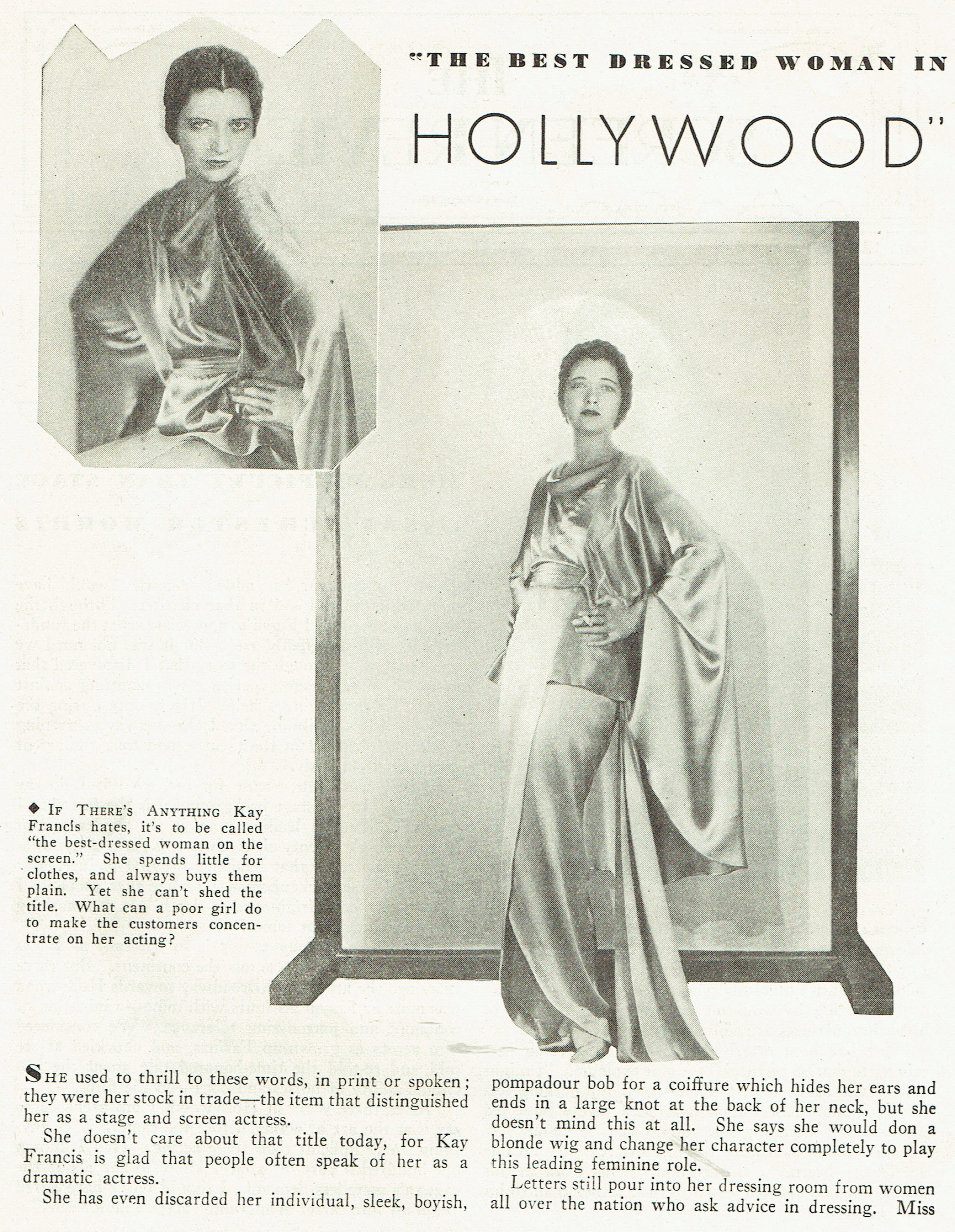 carole lombard publix theatre screen review april 1932da