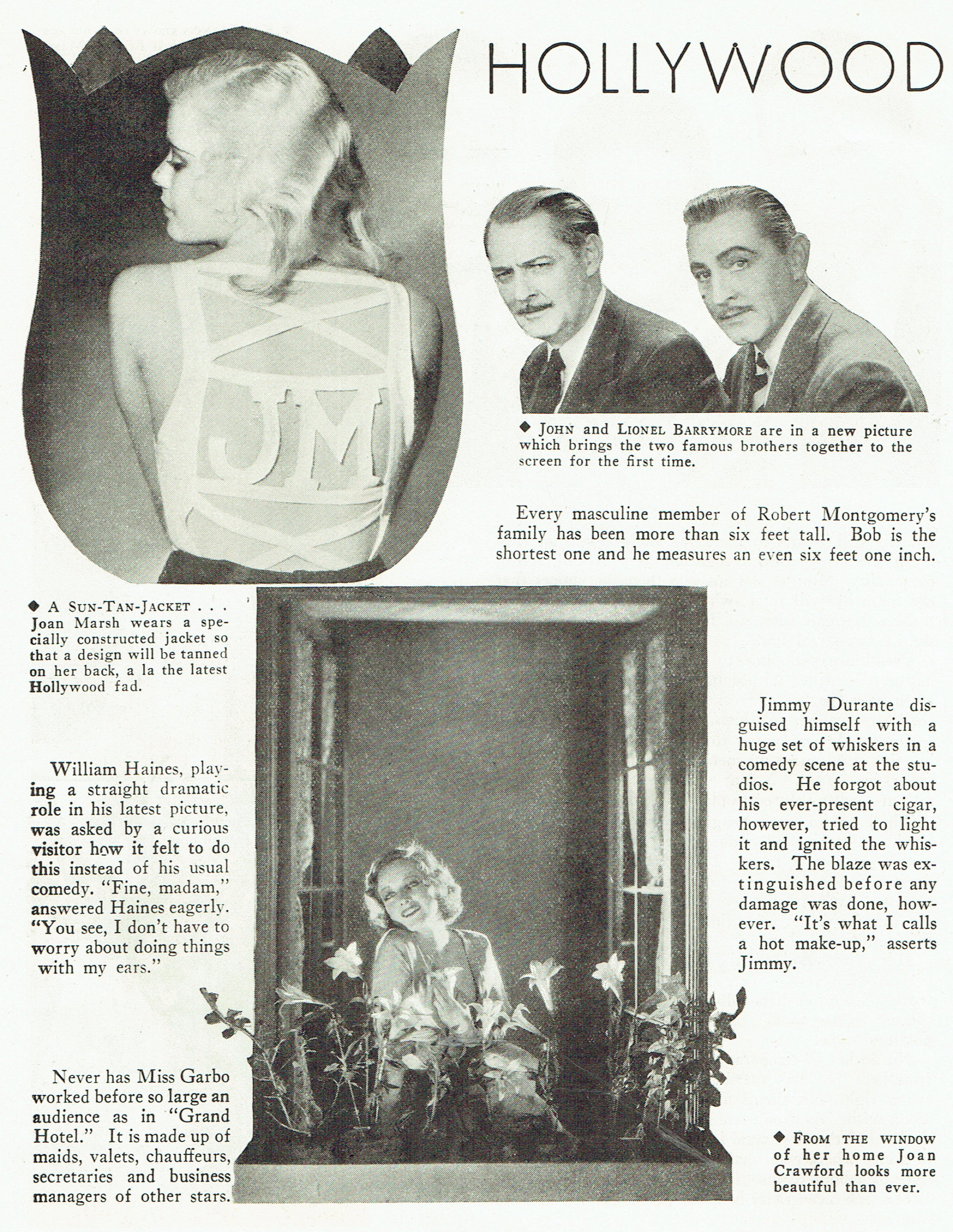 carole lombard publix theatre screen review april 1932fa