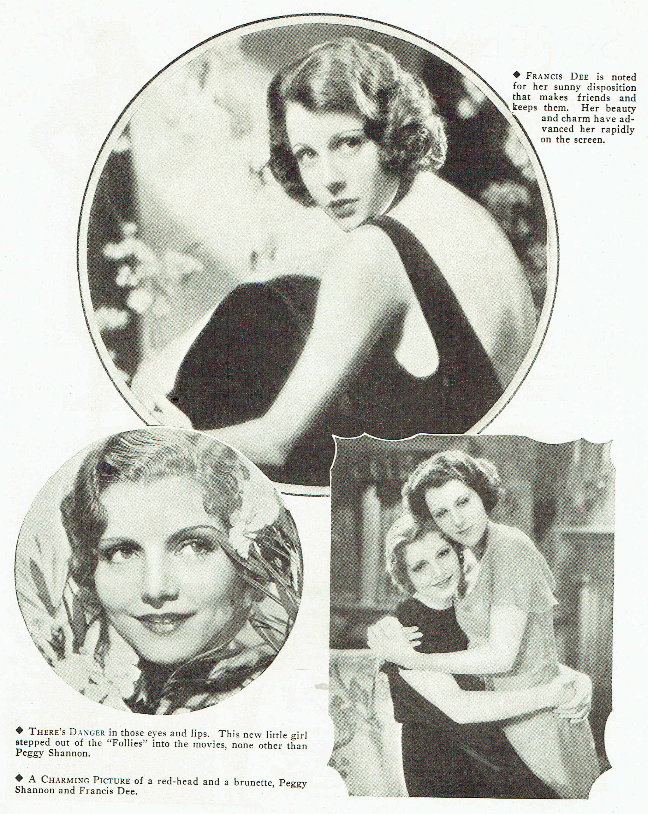 carole lombard publix theatre screen review april 1932oa
