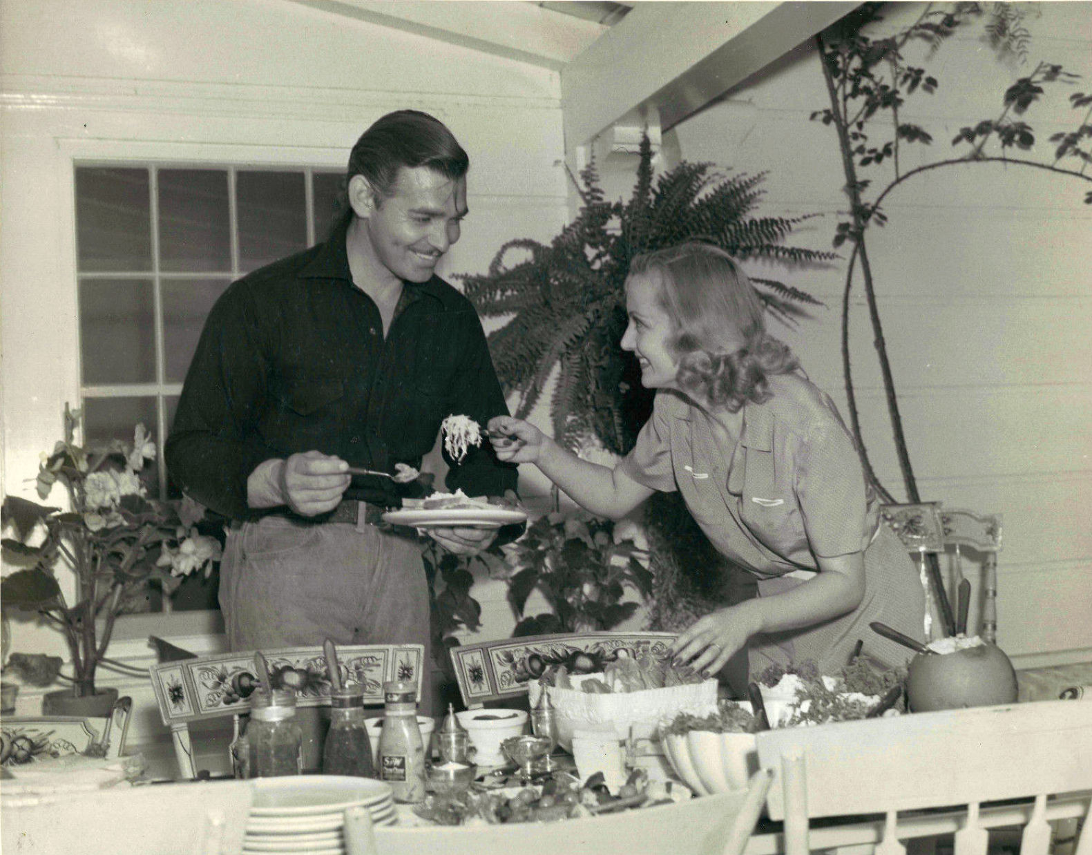 carole lombard clark gable screenland november 1939b front