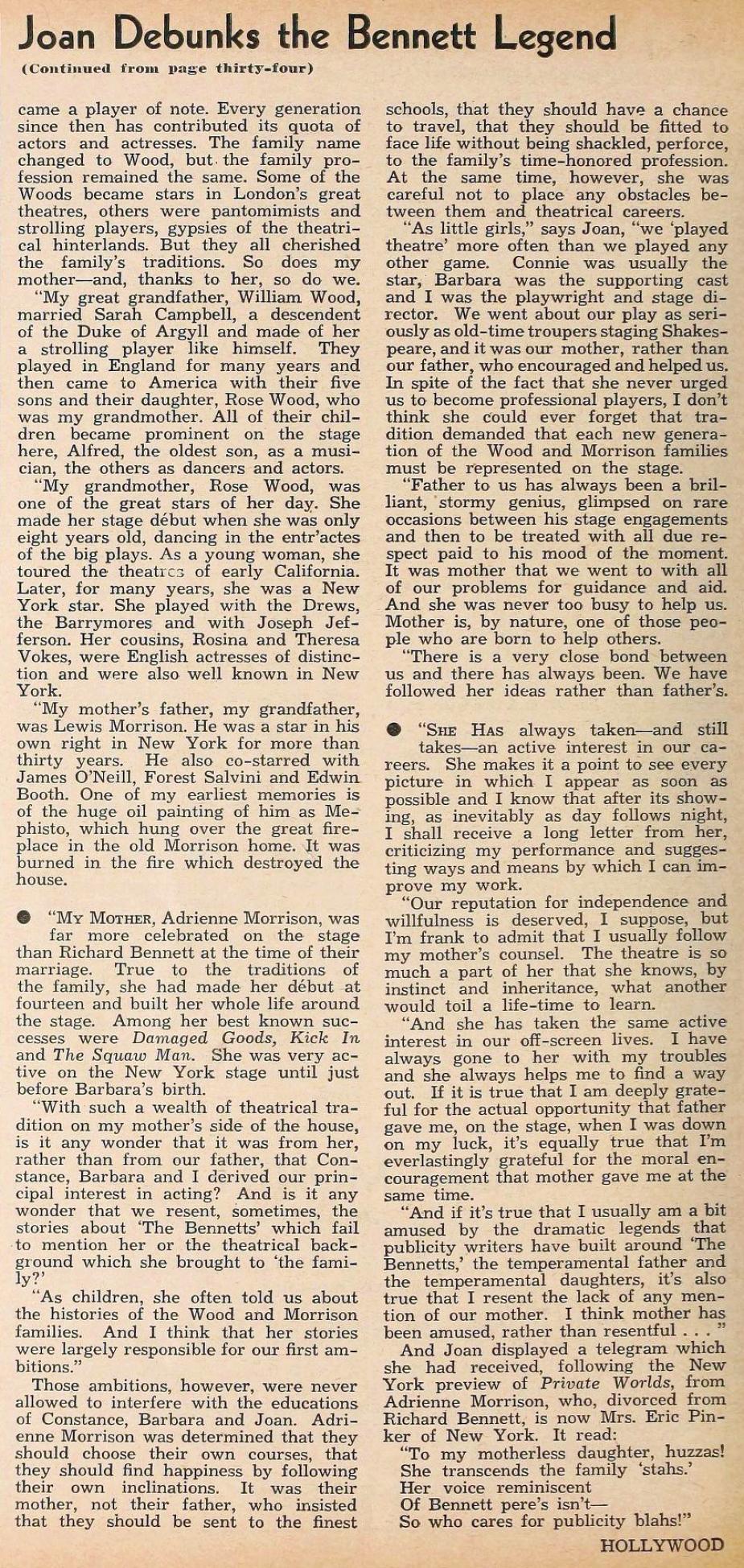 hollywood august 1935da