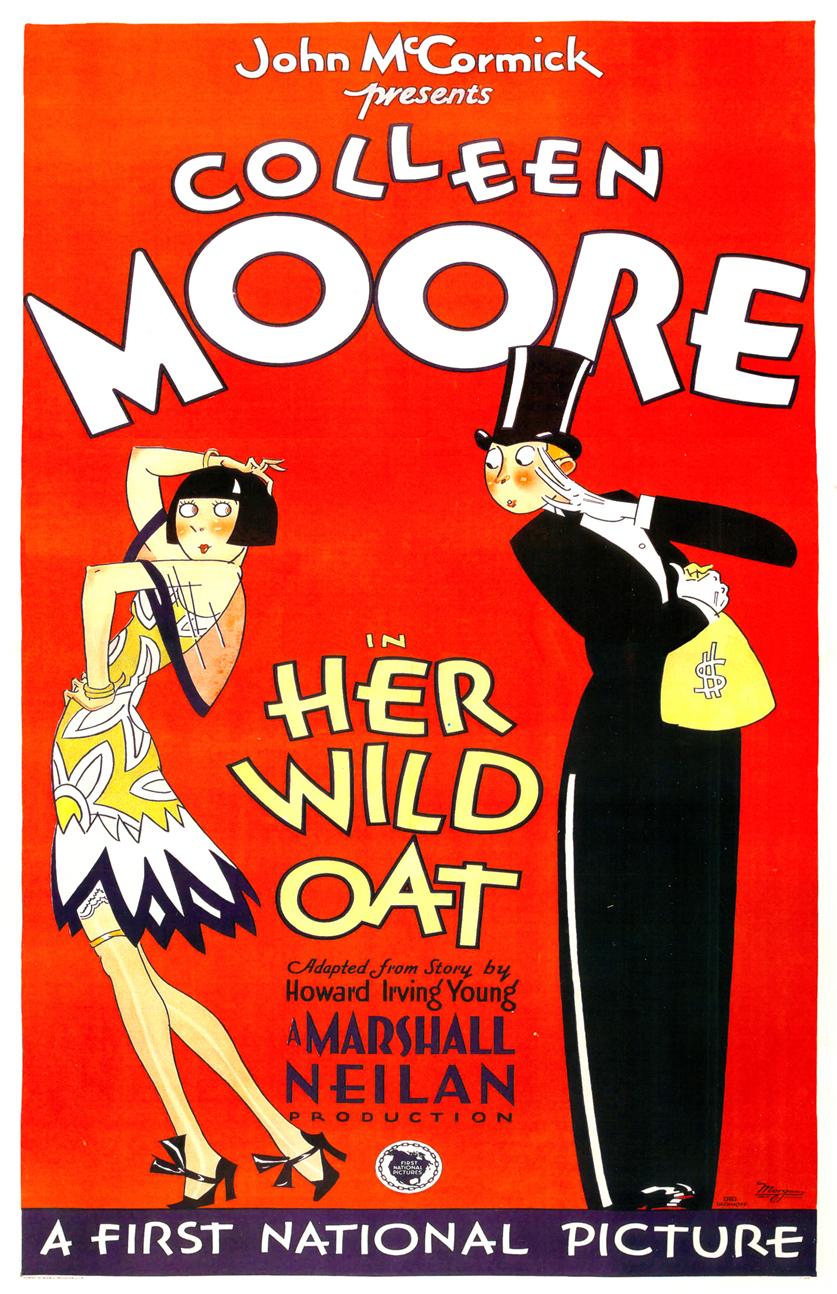 colleen moore her wild oat poster 00