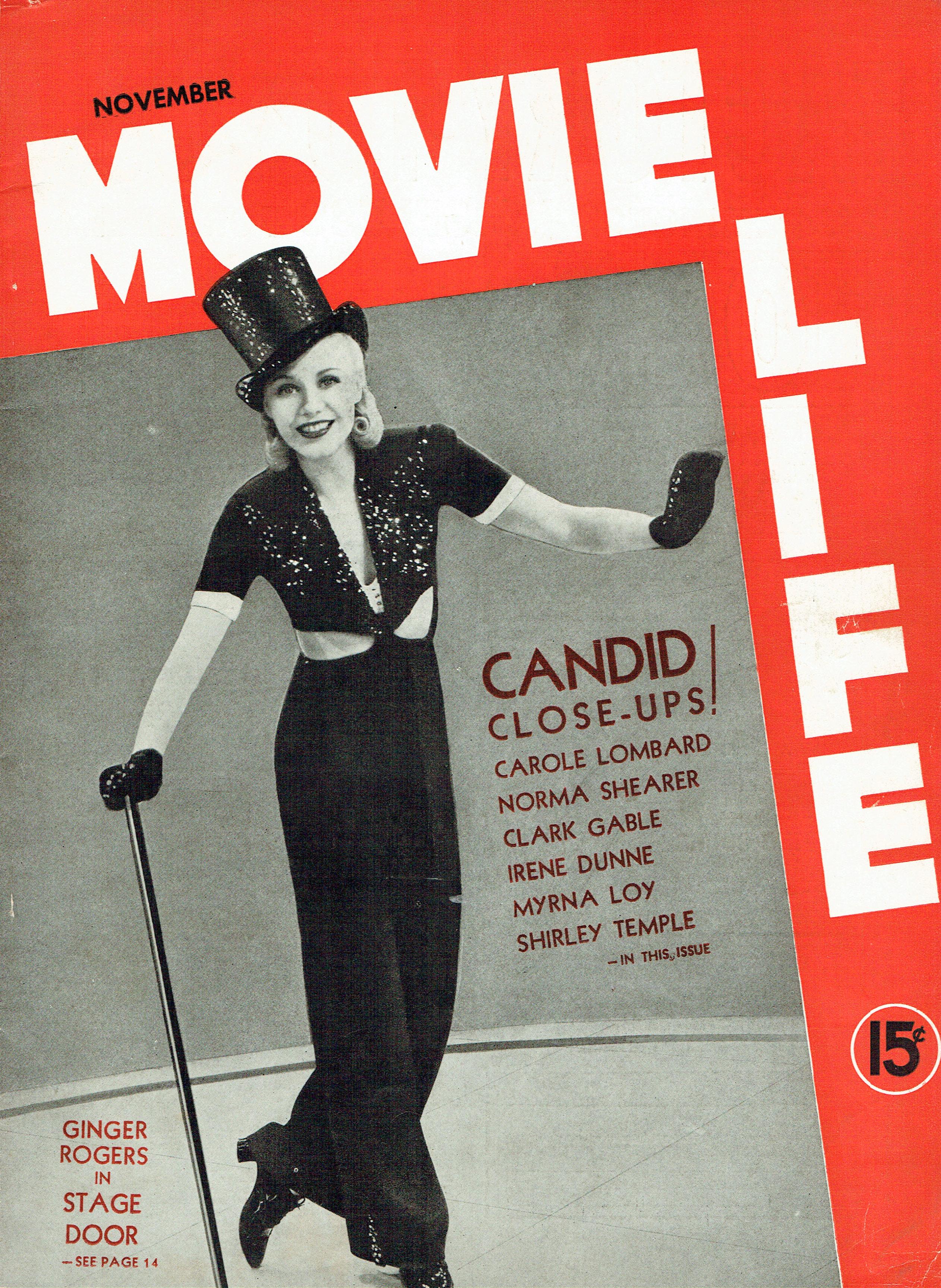 movie life november 1937a cover