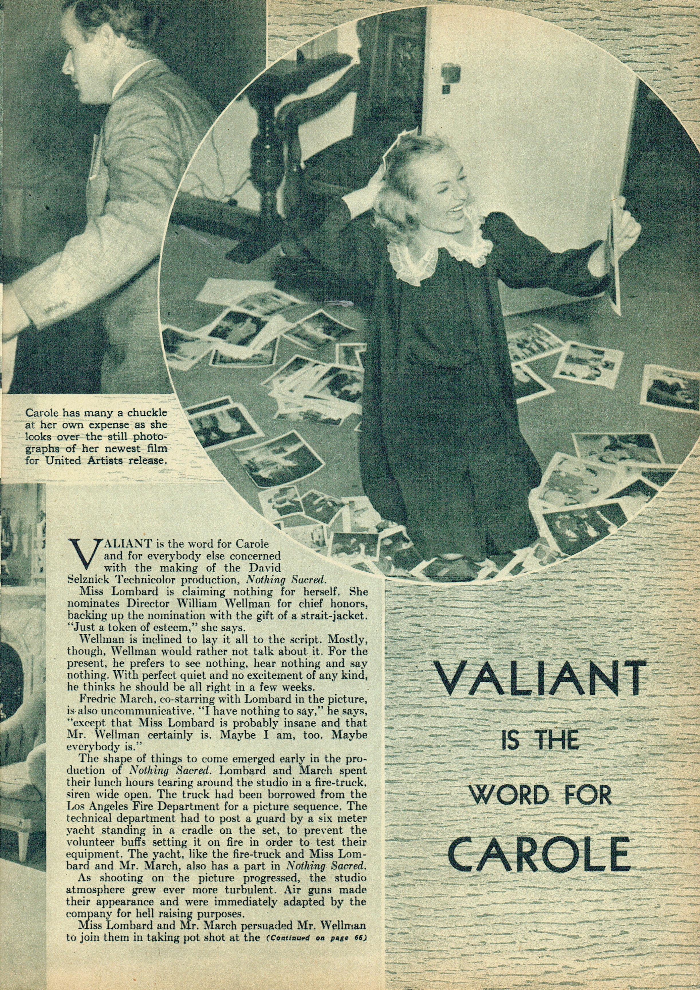 carole lombard movie life november 1937b